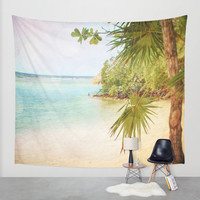 Seclusion Wall Tapestry by Jenndalyn