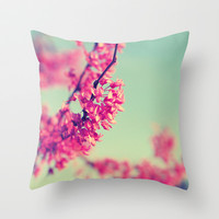 Spring Fling Throw Pillow by Libertad Leal Photography