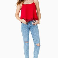 Young Love Crochet Cami