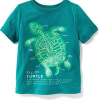 Graphic Crew-Neck Tee for Toddler Boys | Old Navy