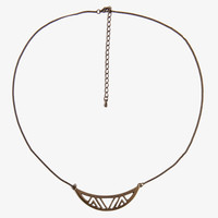 Curved Geo Necklace