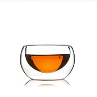 Handmade Gift Double Walled Clear Glass Mini Teacup/Espresso Cup 50ml 1.69oz 6pcs/box - Azzinoth Unihom