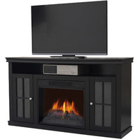 "Walmart: Decor Flame Electric Fireplace for TVs up to 55"", Black"
