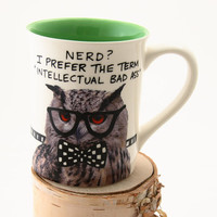 Back to school, owl mug, gift for teacher, student, dorm decor, college bound, grammar mug, funny mug for nerd