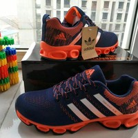Adidas  Fashion Casual Multicolor Unisex Sneakers Couple Running Shoes