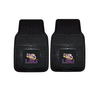 Licensed Official New NCAA LSU Tigers Car Truck Front Back Rubber All Weather Floor Mats
