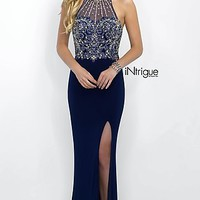 High Neck Intrigue by Blush Prom Dress