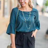 Coast To Coast Top, Hunter Green