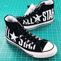 Converse All Star 100th Balck White High Top Shoes - Best Online Sale
