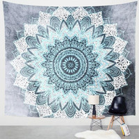 Ash Tale Mandala Tapestry Wall Hanging Decorative