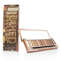 Naked Heat Palette: 12x Eyeshadow, 1x Doubled Ended Blending - Detailed Crease Brush - -