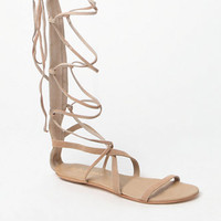 Matisse Atlas Suede Tall Gladiator Sandals at PacSun.com