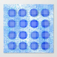 trippy circles Stretched Canvas by Marianna Tankelevich