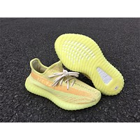 Adidas Yeezy 350 Boost V2 Fluorescent Yellow 36-46