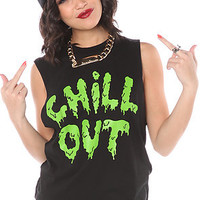 Jac Vanek Tee The Chill Out Muscle