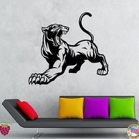 Wall Stickers Vinyl Decal Animal Panther Cougar Predator Decor  Unique Gift (z1952)