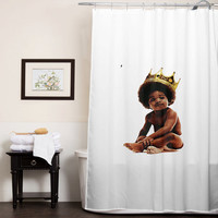 Big notorious big biggie smalls special custom shower curtains that will make your bathroom adorable