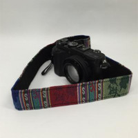 Woven Blanket Camera Strap Photographers Gift - CAST41