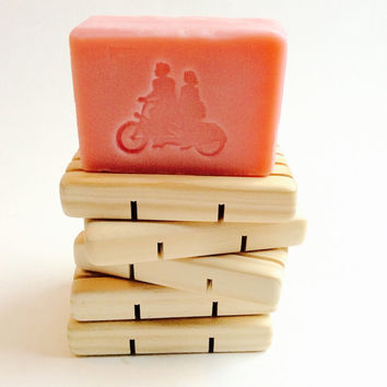 Best Bar Soap ENERGY/5 oz. Designer LUXE Bar Soap/Genevieve & Theodore Logo/Soapie Shoppe Haywood Mall