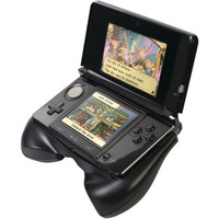 CTA 3DS-HG Nintendo 3DS Controller Grip Black W/Integrated Stand