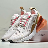 Nike Air Max 270 Trending Women Men Personality Air Cushion Sport Running Shoe-5