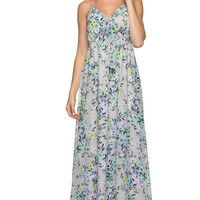 Love is in the Air Floral Maxi Dress