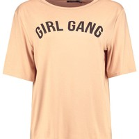 Flora Girl Gang Oversized T-Shirt