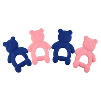 Baby Teether Silicone Chewing Safety Bears