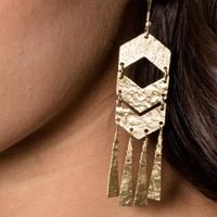 Fair Trade Chevron Earrings