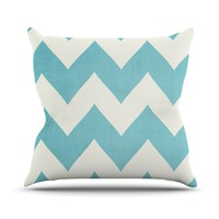 "Catherine McDonald ""Salt Water Cure"" Throw Pillow"
