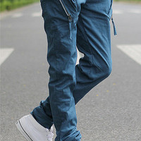 Men New Style Casual Slim Pants