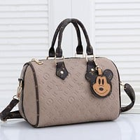 Louis Vuitton LV Embossed Logo Women's Handbag Shoulder Bag