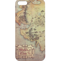 The Hobbit: The Desolation Of Smaug Map iPhone 5 Case
