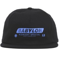 Midnight Special Strapback Hat Black