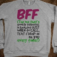 BFF - The One That's Spookily Telepathic - Connected Universe