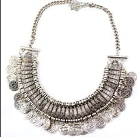 Boho Chic Coin Necklace