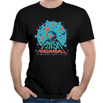funny t shirts Phish Band Magnaball Men's Fashion T shirt|T-Shirts