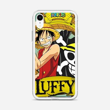 Straw Hat Pirate Captain iPhone XR Case