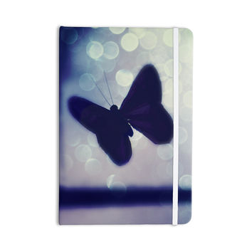 """Robin Dickinson """"Enchanted"""" Lavender Butterfly Everything Notebook"""