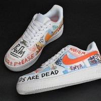 PEAPONVX Jacklish Vlone X Nike Air Force One Low Pauly For Sale