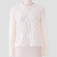 From Me To You Lace Blouse
