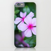 Fuchsia Flora iPhone & iPod Case by Emily T. Photography