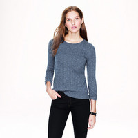 Pre-order Cambridge cable crewneck sweater - sweaters - Women's new arrivals - J.Crew