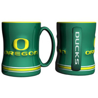 Oregon Ducks NCAA Coffee Mug - 15oz Sculpted (Single Mug)
