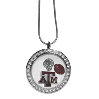 Texas A & M Aggies Locket Necklace CLOC26