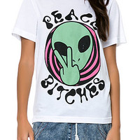 Peace Bitches Loose Tee