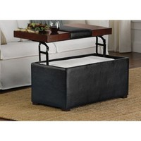 Arlington Lift-Top Storage Ottoman