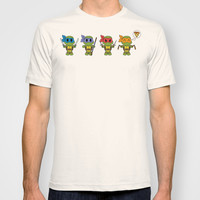 TMNT Chibis T-shirt by Katie Simpson   Society6