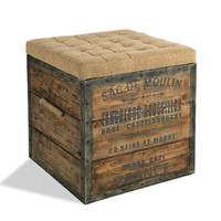 Aidan Gray Furniture Cube Sac De Moulin Wooden