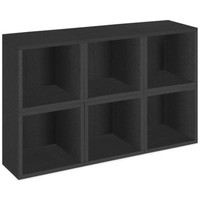 Way Basics® Storage Cubes in Black (Set of 6)